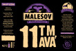 Dark 11° Lager (Friendly Brewery Malešov, 0,33 l)