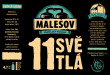 Pale Lager 11° (Friendly Brewery Malešov, 0,33 l) (kopie)