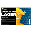 American Pale Lager 10° (0,5l can)