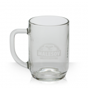 Malešov Beer Glass
