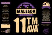 Dark 11° Lager (Friendly Brewery Malešov, 0,75 l)