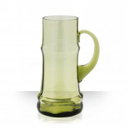Goliáš, pivní půllitr zelený