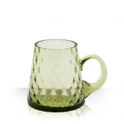 Pail, beer mug - green