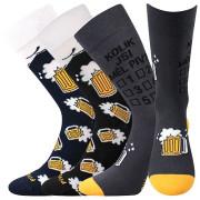 Veselé ponožky PiVoXX MIX6 - 3 páry (vel. až 50!)