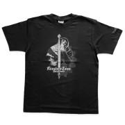 Triko Kingdom Come: Deliverance (vzor meč, černo-šedá)