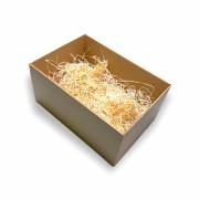 Dárková krabice s průhledným víkem (VELKÁ)