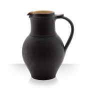 Brown Ceramic Pitcher for 6 beers