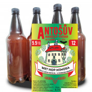 WET HOP MIMOSA Lager 12° (1,0 l PET)
