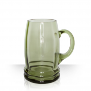 Green Beer Glass 1l
