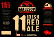 Irish Red Ale 11° (Friendly Brewery Malešov, 0,75 l)