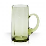 Classic, green beer glass 0.5 L