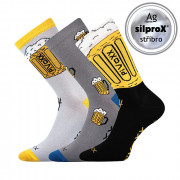 Veselé ponožky PiVoXX MIX2 - 3 páry (vel. až 50!)