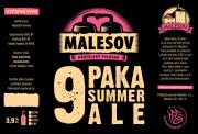Paka Ale (Přátelský pivovar Malešov, 0,75 l)
