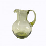 Green Beer Pitcher for 2 beers, chubby
