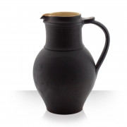 Brown Ceramic Pitcher for 8 beers Thin