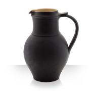 Keramický džbán na pivo, hnědý, 8 piv štíhlý