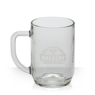 Malešov Beer Glass