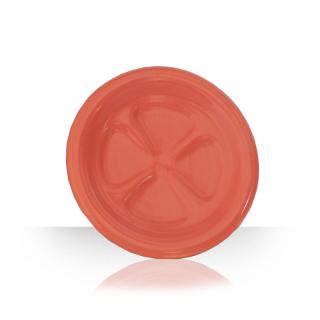 Ceramic beer coaster - orange