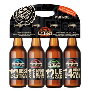 Malešov - Degustační pivní sada 0,5L
