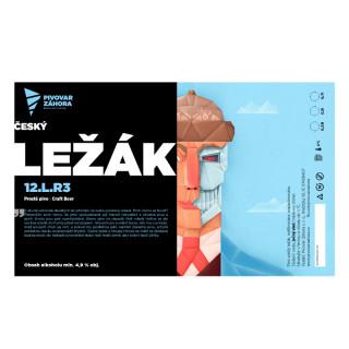 Český LEŽÁK (0,5 l plech)
