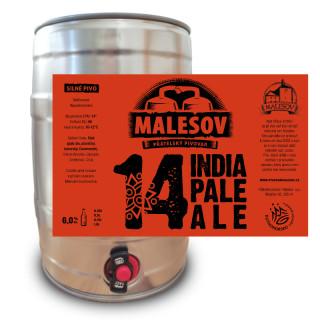 India Pale Ale 14° (5l returnable KEG AL)