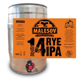 Rye IPA 14° (5l returnable KEG AL)