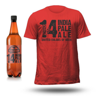 Beer and T-shirt MALEŠOV IPA