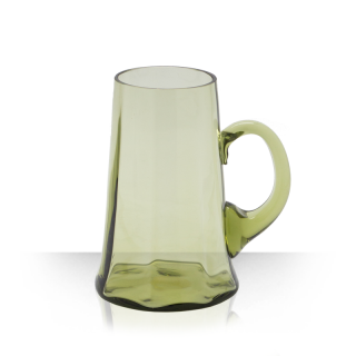 Pin, beer mug - green