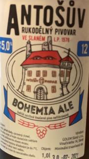 BOHEMIA ALE 12° (1l PET)