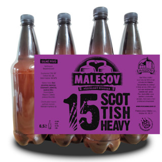 Scottish Heavy Ale 15° (1,0l pet)