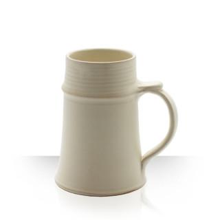 Reeve, Cream Ceramic Tankard, 1 L