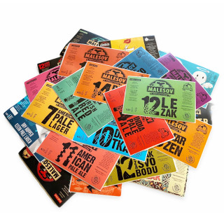 Collector's set of beer labels (25pcs)