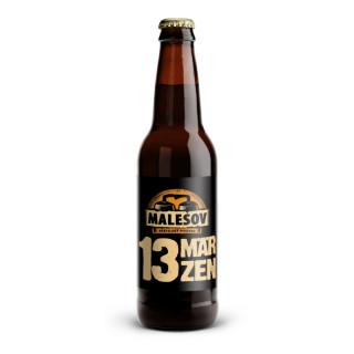 Märzen 13° (Přátelský pivovar Malešov, 0,33 l)
