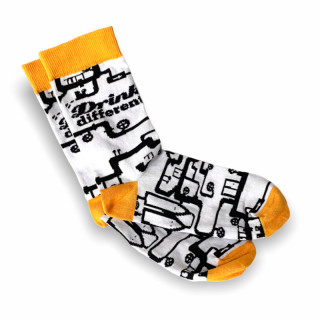 Barevné ponožky DRINK DIFFERENT
