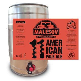American Pale Ale 11° (5l returnable KEG AL)