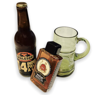 Men's beer gift set - big