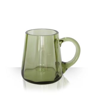 Džbírek, pivní půllitr zelený