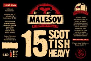 Scottish Heavy Ale 15° (0,75 l)