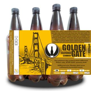 Polotmavé Golden Gate 13° (1l PET)