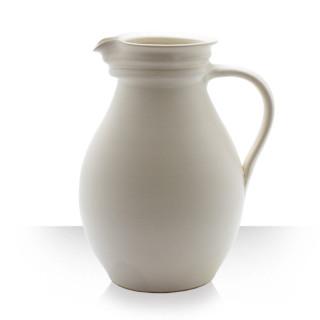 Ceramic pitcher, beige, 10 beers