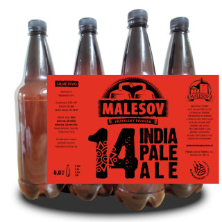 India Pale Ale 14° (1l PET)