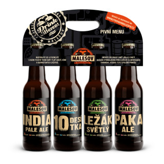 Malešov - Beer Gift Set