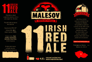 Irish Red Ale 11° (0,75 l)