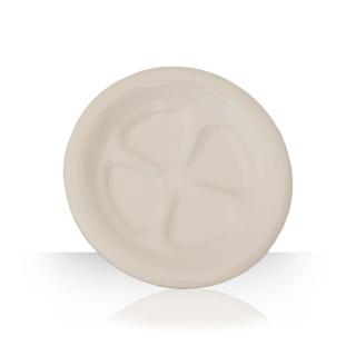 Ceramic beer coaster - cream