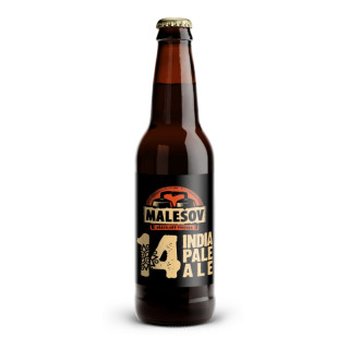 IPA (Friendly Brewery Malešov, 0,33 l)