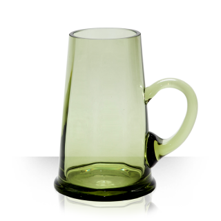 Kuželka, pivní půllitr zelený