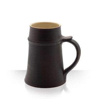 Reeve, Brown Ceramic Tankard, 1 L
