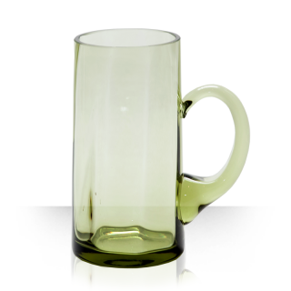 Classic, green beer glass 0,5 L