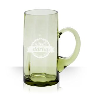 Pivní půllitr s logem