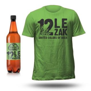 Beer T-shirt MALEŠOV Lager